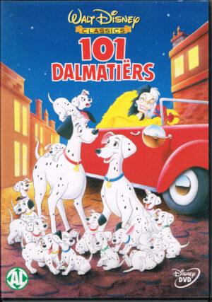 101 Dalmatiers Engels / Nederlands Dvd 1 disk 76:00minuten Regio 2 EAN 7321931346917