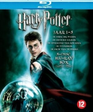 Harry Potter 1-5 verzamelbox blu-ray EAN 7321906209001