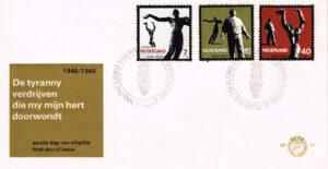 Nederland 1965 FDC 20 jaar vrijheid onbeschreven E71