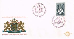 Nederland 1965 FDC 150 jaar Militaire Willems Orde onbeschreven E72