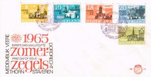 Nederland 1965 FDC Zomerzegels onbeschreven E74