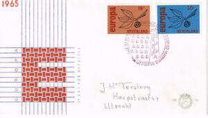 Nederland 1965 FDC Europazegels beschreven E75