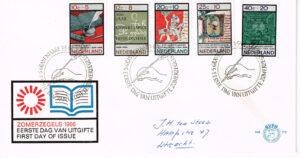 Nederland 1966 FDC Zomerzegels beschreven E79