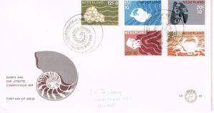 Nederland 1967 FDC Zomerzegels onbeschreven E83