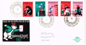 Nederland 1967 FDC Kinderzegels beschreven E87
