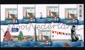 Nederland 2016 Mooi Nederland velletje vissersplaatsen Scheveningen NVPH 3411