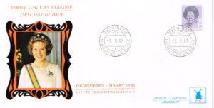 Nederland 1982 FDC Frankeer Beatrix 70 c W47 Philato Molenreks