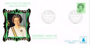 Nederland 1982 FDC Frankeer Beatrix 90 c W48 Philato Molenreks