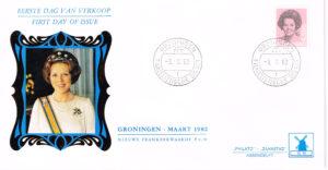 Nederland 1982 FDC Frankeer Beatrix 6,50 gld W49 Philato Molenreeks