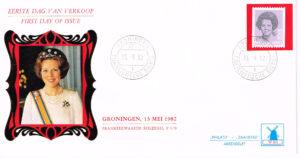 Nederland 1982 FDC Frankeer Beatrix 70 c rolzegel W50 Philato Molenreeks