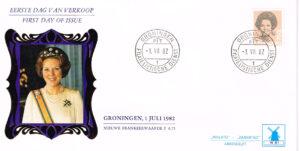 Nederland 1982 FDC Frankeer Beatrix 75 c W51 Philato Molenreeks