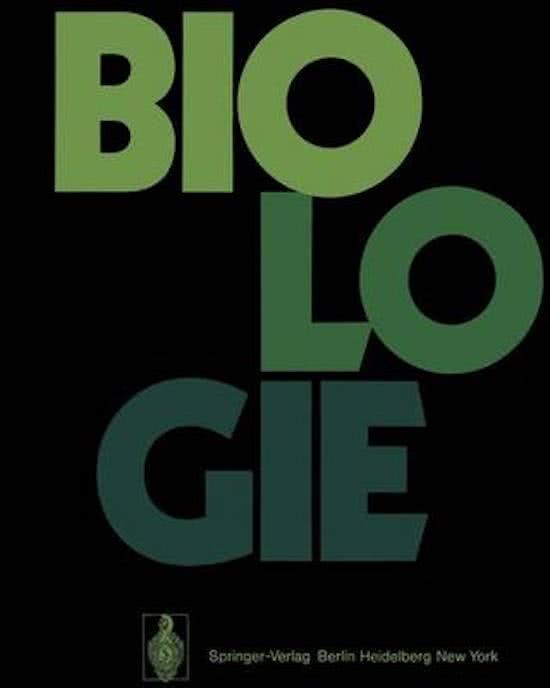 Biologie Ein Lehrbuch für Studenten der Biologie ISBN13 9783540057277
