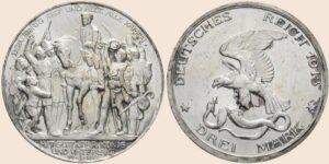 Duitsland 1913 3 Mark 1913 Silber (900) 100 Jahre Befreiungskriege gegen Frankreich