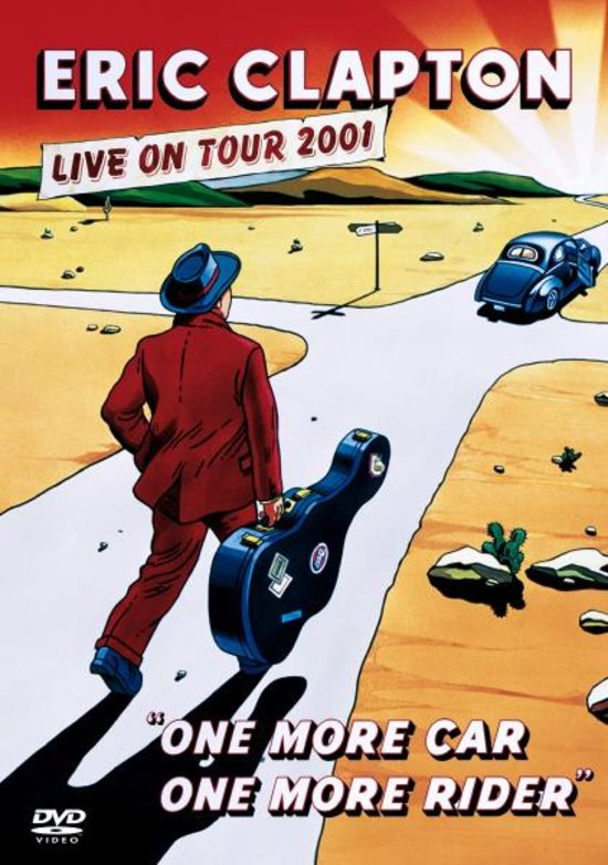 Eric Clapton - One More Car One More Rider Live 2001 EAN 0075993857825