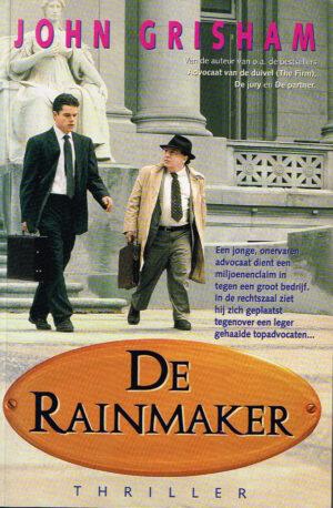 John Grisham De Rainmaker ISBN13 9789022983829