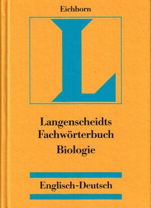 Langenscheidt fachworterbuch Biologie Englisch - Deutsch ISBN 9783861171225