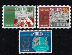 Ned. Antillen 1984 Amigoe di Curaçao. nr 764-766