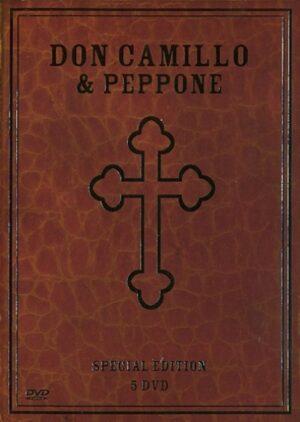 Don Camillo en Peppone - Fernandel, Gino Cervi 5 DVD EAN 5412012142176