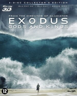 Exodus Gods and Kings - Christian Bale (3D + Blu-ray + DVD) (Collector's Edition) EAN 8712626048176