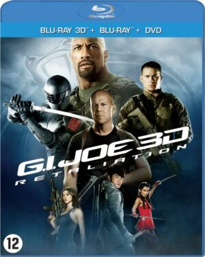 G.I. Joe 2 - Retaliation (3D + Blu-Ray + DVD) EAN 5050582947403