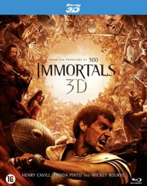 Immortals - Henry Cavill, Freida Pinto (3D+2D Blu-ray + DVD) EAN 8716777938478