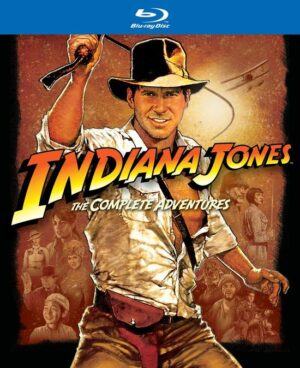 Indiana Jones - The Complete Adventures - Harrison Ford, Sean Connery (5 Blu-ray) EAN 5050582885262