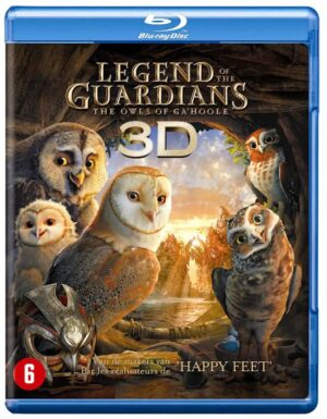 Legend Of The Guardians The Owls Of Ga'Hoole (3D & 2D Blu-ray) EAN 5051888071823