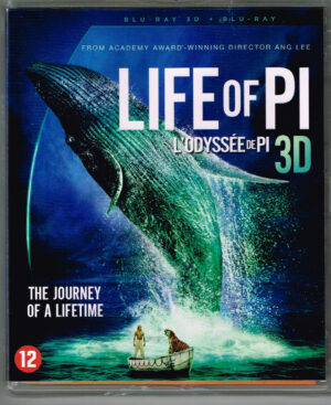 Life Of Pi (3D Blu-ray) EAN 8712626092193