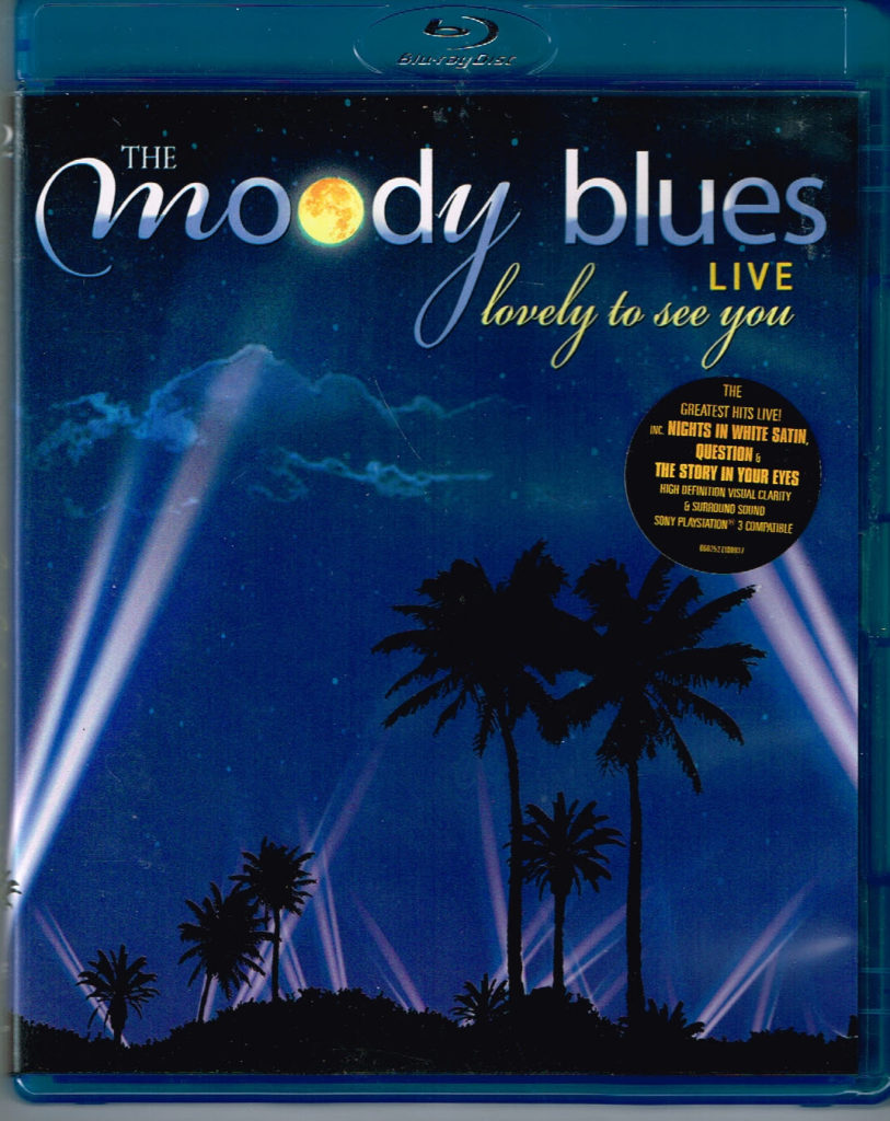 Moody Blues, The - Lovely To See You Live (Blu-Ray) EAN 0602527100937