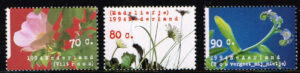 Nederland 1994 Natuur en Milieu, bloemen NVPH 1601-03