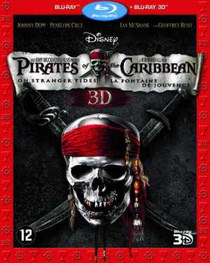 Pirates Of The Caribbean 4 On Stranger Tides - Johnny Depp (Blu-Ray 3D + Blu-Ray) EAN 8717418324452