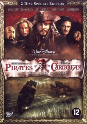 Pirates Of The Caribbean At World's End 2 disc special edition - Johnny Depp EAN 8717418142759