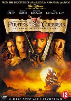 Pirates Of The Caribbean The Curse Of The Black Pearl 2 disc special edition - Johnny Depp EAN 8711875966835