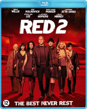 Red 2 - Brucw Willis, John Malkovich Catharine Zeta-Jones, Anthony Hopkins (Blu-ray) EAN 2750018734555