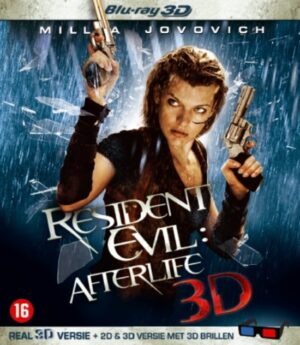 Resident Evil 4 Afterlife - Milla Jovovich (3D+2D Blu-ray) EAN 8713045222598