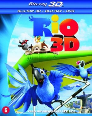 Rio, van de makers van Ice Ace (3D Blu-ray) EAN 8712626094067