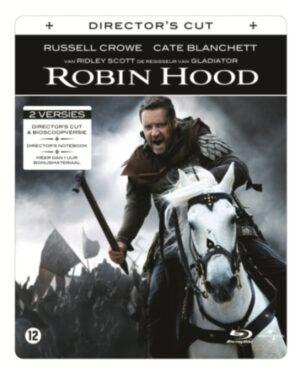 Robin Hood (2010) - Russell Crowe, Cate Blanchett Steelbook Blu-Ray en DVD EAN 5050582755176