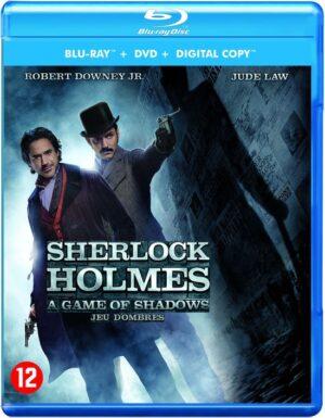 Sherlock Holmes 2 A Game of Shadows - Robert Downey jr, Jude Law (Blu-ray+Dvd) EAN 5051888091326