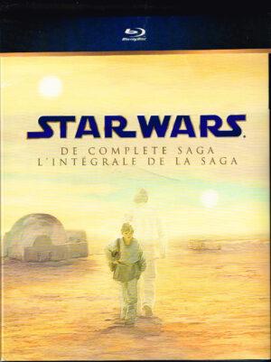 Star Wars - The Complete Saga 9 discs Blu-ray EAN 8712626073024
