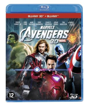 The Avengers - Robert Downey jr, Chris Evans, Mark Ruffalo (3D Blu-Ray + Blu-Ray) EAN 8717418365677