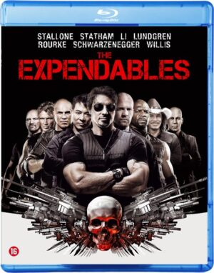 The Expendables - Silvester Stallone, Bruce Willis, Arnold Schwarzenegger Director's Cut Blu-ray. EAN 8715664081136