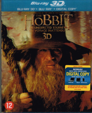 The Hobbit 1 (3D & 2D Blu-ray) An Unexpected Journey
