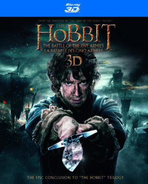 The Hobbit 3 (3D & 2D Blu-ray) The Battle of the five Armies