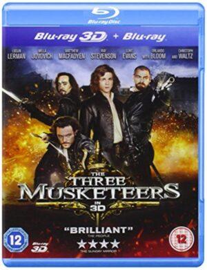Three Musketeers 2011- Logan Lerman, Milla Jovovich, Matthew MacFadyan 3D +Blu-Ray EAN 5030305515287