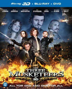 Three Musketeers 2011- Logan Lerman, Milla Jovovich, Matthew MacFadyan 3D +Blu-Ray EAN 8715664094211