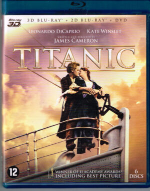 Titanic - Leonardo DiCaprio, Kate Winslet (3D+2D Blu-ray+Dvd) EAN 8712626079033