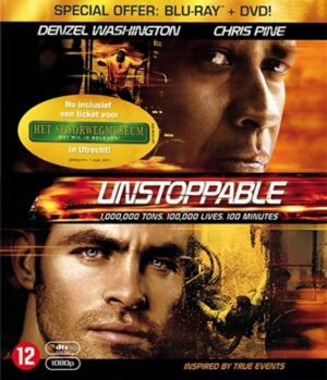 Unstoppable - Denzel Washington, Chris Pine (Blu-ray+Dvd Combopack) EAN 8712626092070