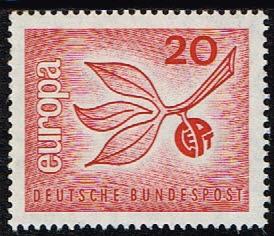 1965 Duitsland (BRD) 1965 Europazegel 20 pf nr 484