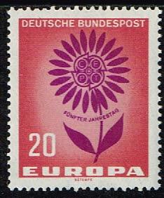 Duitsland (BRD) 1964 Europa zegel 20 pf nr 446