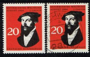 Duitsland (BRD) 1964 zegel 'Johannes Calvin' nr 439